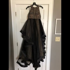 2-Piece Glamour Prom Dress by Terani Couture